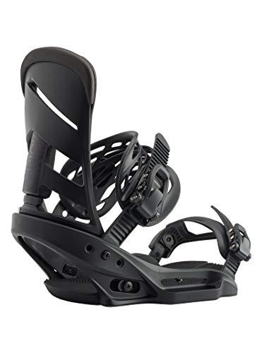Burton Herren Mission EST Snowboard Bindung, Black, L