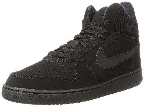 Nike Court Borough Mid, Baskets Hautes Femme, Noir (Black), 36 EU