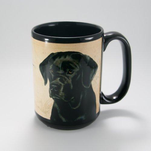 (My Faithful Friend Kaffeebecher Schwarzen Labrador-Design)