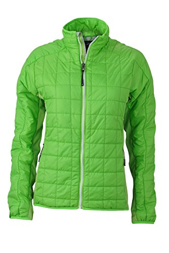 JAMES & NICHOLSON Damen Jacke, Einfarbig Grün