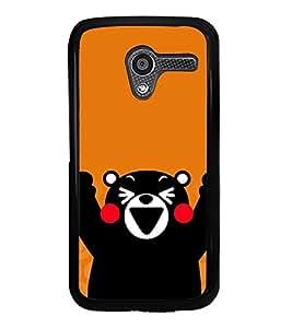 HiFi High Glossy Designer Phone Back Case Cover Motorola Moto X :: Motorola Moto X (1st Gen) XT1052 XT1058 XT1053 XT1056 XT1060 XT1055 ( Cute Bear Panda )