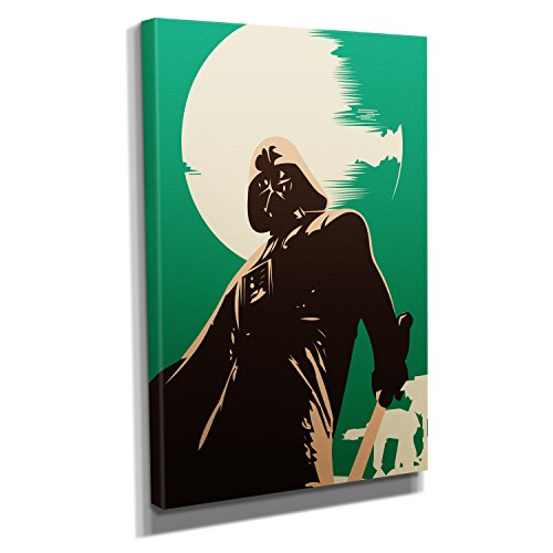 Imperium - Kunstdruck auf Leinwand (30x45 cm) zum Verschönern Ihrer Wohnung. Verschiedene Formate auf Echtholzrahmen. Höchste Qualität. (Kostüm Xxl-stormtrooper)