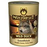 WILD DUCK Nassfutter 6 x 395g enthält 66% frisches Entenfleisch