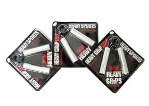 Heavy Grips Beginner - Pinza Mano, argento, confezione da 3 pezzi