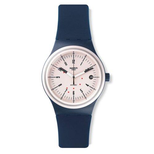 Swatch SUTN400 - Orologio da polso Uomo, Silicone, colore: Blu
