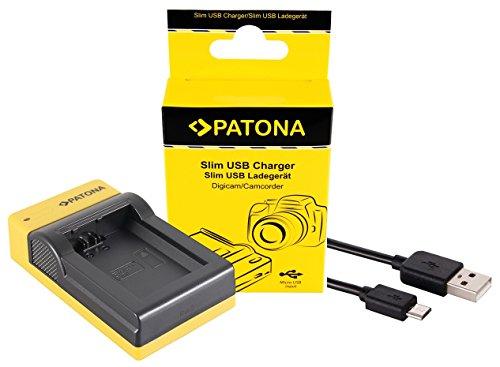 Slim Ladegerät für Sony CyberShot RX100 - für Sony Akku NP BX1 | einfach mit jedem micro-USB Kabel/Ladegerät (z.B. Smartphone) zu verwenden (Kamera Slim Sony)