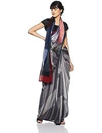 Satya By Satya Paul Saree (RD1168900_Black_Free Size)
