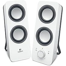 Logitech Z200 - Altavoces 2.0 para PC, color blanco
