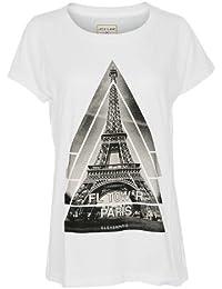 ELEVEN PARIS Diseñador Mujer Top Shirt Camisetas - TORFEL -