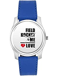 BigOwl Me + Field Hockey = Love | Best Gift For Field Hockey Lovers Fashion Watches For Girls - Awesome Gift For...