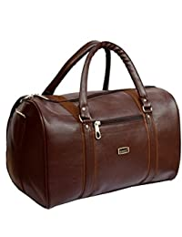Stylish Specious Travel Duffel Bag Rucksack Gym Bag By-Widnes (Brown)