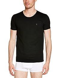 "Rochas T-Shirt ""O""  Vigore Grey ""R"" Embroidery48035501 - Maillot de corps - Uni - Homme"