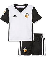 adidas Vcf H Mini Conjunto Equipación-Valencia Cf, Unisex Niños, Blanco, 104