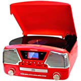 Tocadiscos y CD VC500 RED