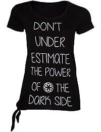 Star Wars - Don't Underestimate The Dark Side Female T-Shirt Size S