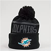 New Era NFL Miami Dolphins BC Cuffed Pom Knit