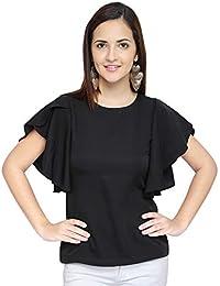 OOMPH! Women's Crepe Tank Top - Charcoal Black