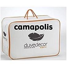 Camapolis-Edredón Nórdico Plumón , 90% Duvet, 100% algodón batista, cama 150cm 240x220.Disponible en varias medidas.