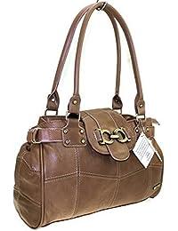NEW LORENZ LADIES LARGE PATCH LEATHER WEEKEND SHOULDER BAGS HAND BAG LADIES BAGS