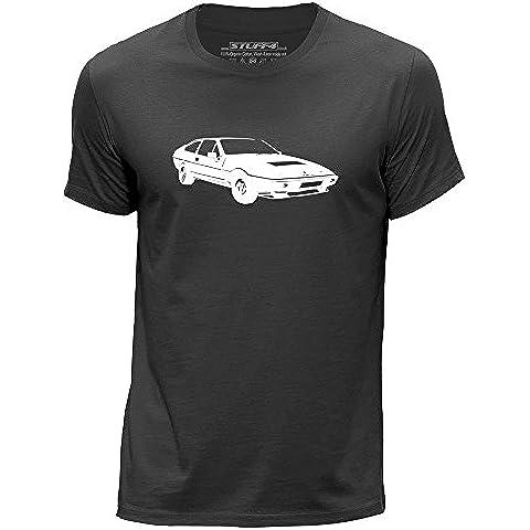 STUFF4 Uomo Girocollo T-Shirt/Plantilla Coche Arte / Eclat