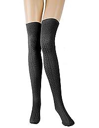 aa4c9bb6dd2b7 Suchergebnis auf Amazon.de für: Overknee Strümpfe Wolle: Bekleidung
