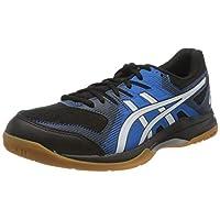 حذاء جل-روكيت 9 للرجال من اسيكس, (BLACK/DIRECTOIRE BLUE), 42 EU