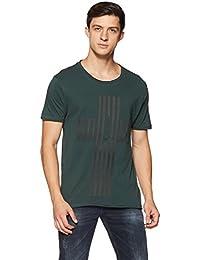 Ed Hardy Men's Printed Regular Fit T-Shirt