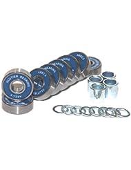 Glutier Abec 5 Bearing (8 bearings) Rodamientos Cojinete Para patines Monopatín skate