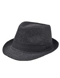 Señoras Para Hombre Sombrero De Jazz Sombrero De Hierba Británico Fácil  Sombrero De Panamá Unisex Sombrero Para El Tiempo… e65a56e3e8e