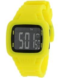 Neff NF0207YLLW - Reloj digital unisex, correa de silicona color amarillo