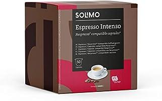 Marca Amazon - Solimo Cápsulas compatibles con Nespresso* - café certificado UTZ