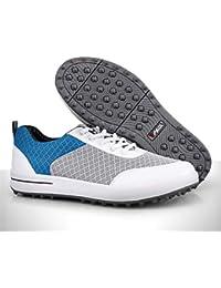 the latest 3f3ad f7ea2 WARMHEAT Zapatillas De Golf Zapato De Malla Transpirable Ultraligero para  Mujer,Blue,EU36