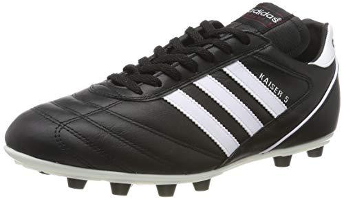 Adidas-Kaiser 5Liga, Herren Fußballschuhe, Schwarz (Black/Running White Ftw), 47 1/3 EU (12 Herren UK) (Fußball-stollen Adidas)