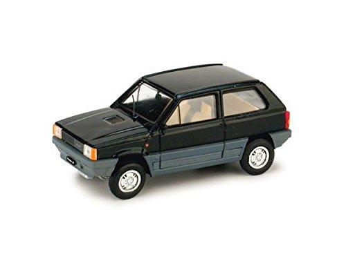 Brumm BM0386-06 FIAT Panda 30 1980 1a Serie Nero Luxor 1:43 MODELLINO DIE CAST kompatibel mit -
