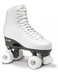 Roces RC1 Classic Roller - Patines de ruedas para mujer, color blanco, talla 39