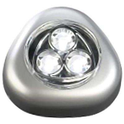 Batterieleuchte 'STICK & PUSH' mit Klebefläche - Kabellos und vielseitig: Die universelle Anbauleuchte mit effizienten Leuchtdioden!