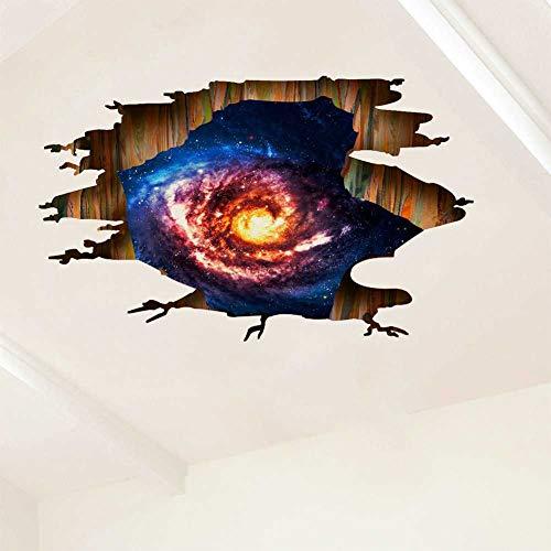 YDYDYD Neue Wandmalereien, 3D-Gebrochene Wände, Planetarium, Wohnzimmer, Kinderzimmer, Umweltfreundliche Dekoration.