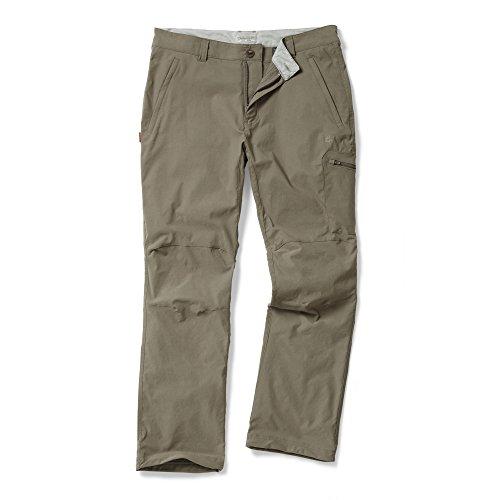 Craghoppers NosiLife - Pantaloni sportivi repellenti agli insetti - Uomo Elephant