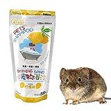 Valensweet Zigbee Hamster Arena de baño Suministros de Limpieza Serialización Desodorante Arena de baño para Degus Gerbil Chinchilla Hedgehog Guinea Pig 500G