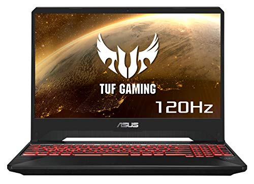 "Asus TUF505DD-AL014T PC Portable Gamer 15,6"" FHD Dalle 120Htz Noir (AMD Ryzen R7, RAM 8Go, HDD 1To + SSD 256Go, Nvidia GTX 1050 3Go, Windows 10) Clavier AZERTY Français"
