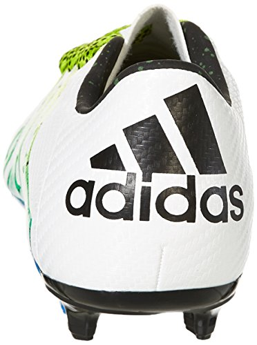 adidas X Fg/Ag Terrain Souple/Synthétique, Chaussures de Football Amricain Homme Blanc (Ftwr White/Core Black/Semi Solar Slime)