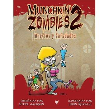 Edge Entertainment- Munchkin Zombies 2. Muertos y enfadados - español, Color (EDGMZ02)