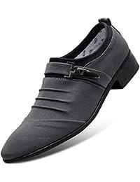 9000d594576d9 LOVDRAM Zapatos De Hombre Zapatos Nuevos De Invierno Zapatos Casuales De  Gran Tamaño para Hombres Conjuntos