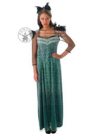 DISNEY ~ Evanora (Oz the Great and PowerfulTM) - Adult Costume Lady : MEDIUM