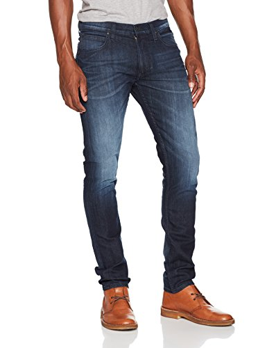 Lee Herren Tapered Fit Jeans Luke Blau (Black Ocean Aabf), W29/L32 (Jeans Luke)