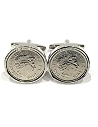 9b3489fd84b2 Premium 2009 10th Tin wedding Anniversary 10 year Tin birthday/Anniversary  Coin cufflinks