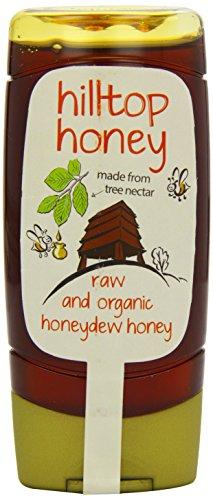 Hilltop miel Raw et organique miel de miellat 370g x 1