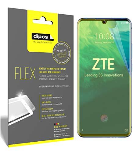 dipos I 3X Schutzfolie 100% passend für ZTE Axon 10 Pro 5G Folie I 3D Full Cover Bildschirmschutzfolie