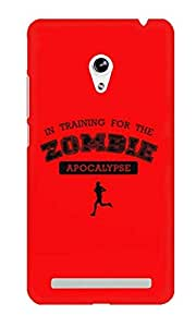 The Fappy Store in-training-for zombie plastic Back Cover Asus Zenphone 5