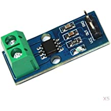 Bobury 20A ACS712 M/ódulo 5V Rango de medici/ón Sensor de corriente Tablero Hall para Arduino nuevo